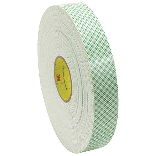 3M 4016 Polyurethane Double Sided Foam Adhesive Tape, 1/16