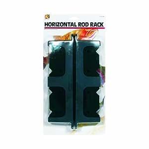 Danielson horizontal mount rod rack fishing for Horizontal fishing rod holders