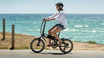 City Surfer 20 Bicicleta plegable negro