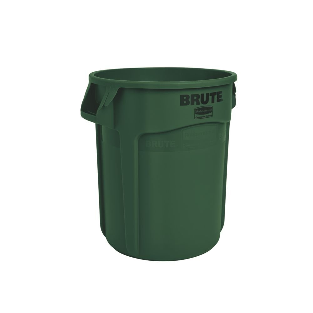 Rubbermaid Commercial Products FG262000DGRN BRUTE Container, 76 Litre, Dark Green