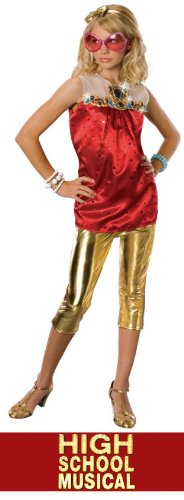 High School Musical 2 Sharpay End-of-School-Year Costume: Girl's Size 4-6