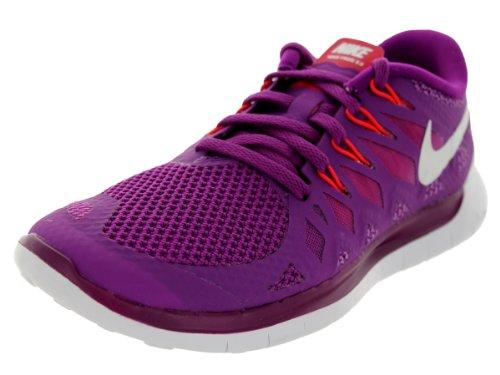 Nike  Free 5.0 - Zapatillas para mujer Brght Grp/White/Vlt Shd/Lgn Rd