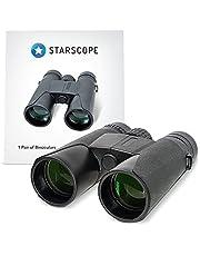 Starscope Binóculos Compactos - Binóculos de Longo Alcance para Observar Pássaros e Natureza   Binóculos com Zoom de Até 10x e 1000M   Binóculos para Concertos e Esportes   Binóculos para Aventura
