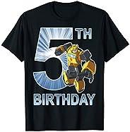 Transformers Bumblebee 5th Birthday T-Shirt