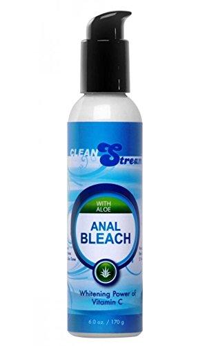 CleanStream Anal Bleach avec aloès et vitamine C intime Crème éclaircissante pour la femme: Taille 6 Oz. / 170 ml