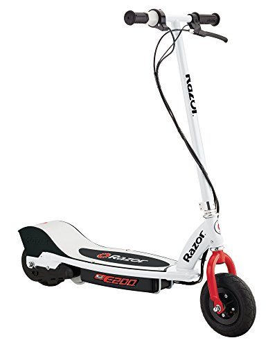 200 Scooter (Razor E200 Electric Scooter - White/Red)
