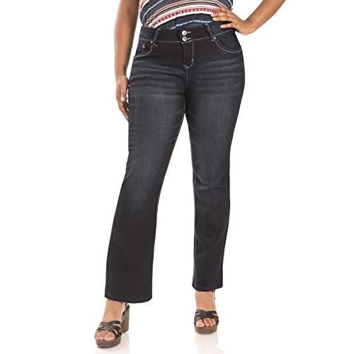 e239a05c6ee 80%OFF WallFlower Juniors Plus Size Luscious Curvy Bootcut Jeans ...