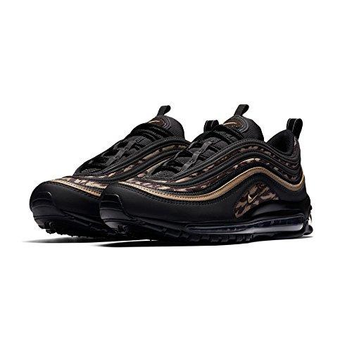 Shox Max Air (NIKE Men's Air Max 97 AOP Running Shoes Black/Khaki-Velvet Brown 8)