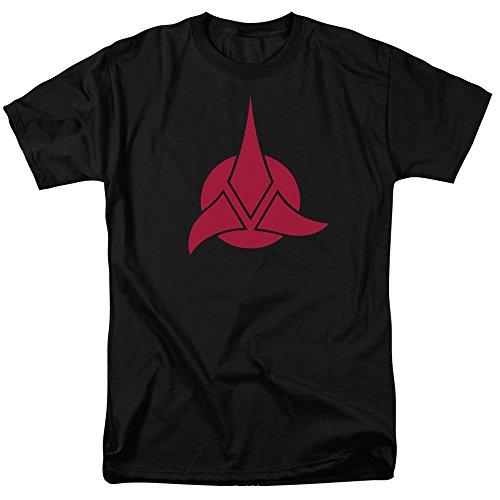 Star Trek Klingon Warrior Logo Sci Fi TV Show T-Shirt Tee