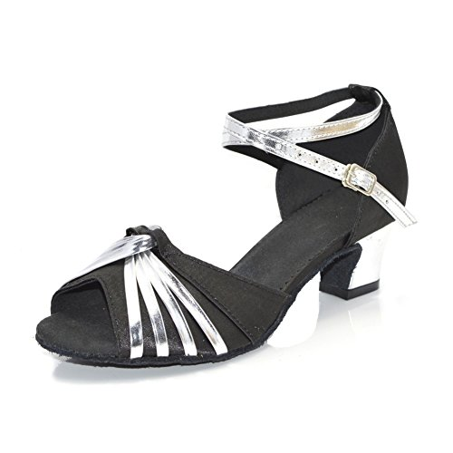 De Zapatos Mujeres De Latino Tacón Zapatos Baile Baile Alto De Modernos Baile Negro Zapatos Sandalia WYMNAME zAwqxSB0S