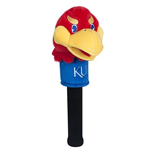 - Team Effort Kansas Jayhawks Mascot Headcover - Sock