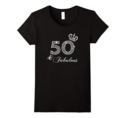 Womens 50th Birthday Gift Diamond 1967 T-Shirt for Women Large Black