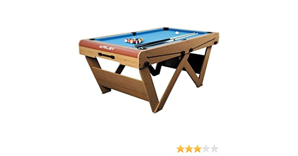 Riley FSPW-6 Mesa de Billar Snooker Plegable 183 x 79 x 97cm ...