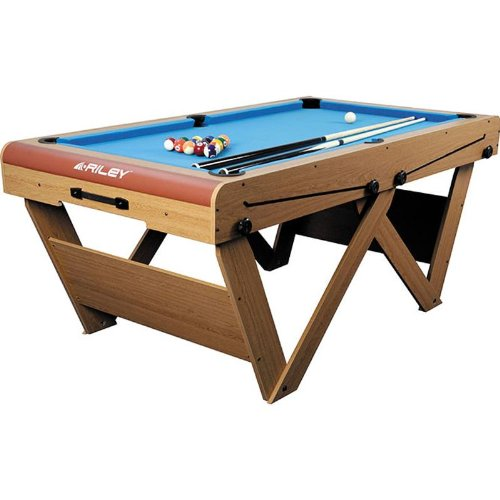 Riley FSPW-6 Billardtisch Pool Snooker klappbar 183 x 79 x 97cm