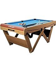 Riley FSPW-6 Mesa de billar snooker plegable 183 x 79 x 97cm