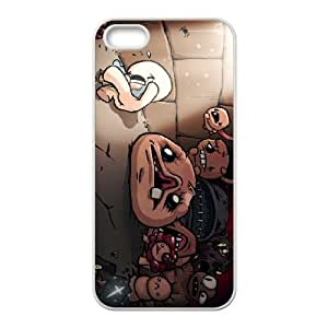 iPhone 5 5s Cell Phone Case White The Binding of Isaac Rebirth U7X8YU