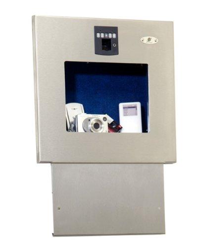 secure logic biometric wall vault steel