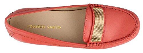Franco Sarto Kvinna Mezza Balett Platt Korall Läder