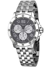 Men's 'Tango' Swiss Quartz Stainless Steel Casual Watch, Color:Silver-Toned (Model: 4899-ST-00668)
