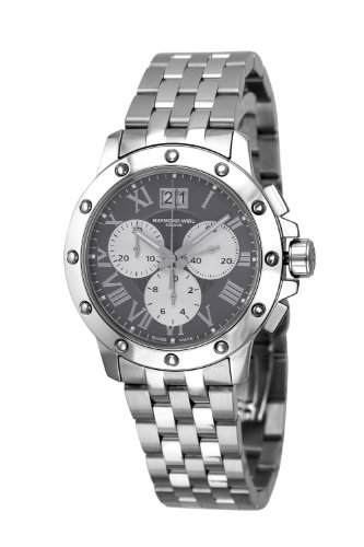 Raymond Weil Men's 'Tango' Swiss Quartz Stainless Steel Casual Watch, Color:Silver-Toned (Model: 4899-ST-00668)