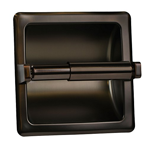 (Classic Oil Rubbed Bronze Recessed Toilet Paper Tissue)