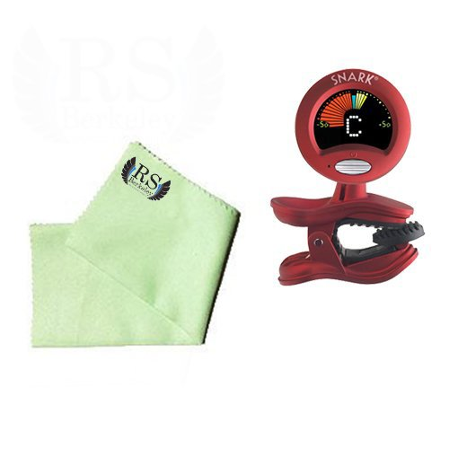 Cello Tuner Pack - Snark SN2 All Instrument Tuner with Tap Tempo Metronome Includes Bonus Cello Cleaning Cloth