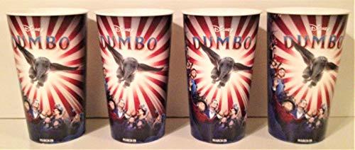 Disney: Dumbo 2019 Movie Theater Exclusive Four 44 oz Plastic Cups