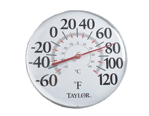Taylor Precision Products Big Read Dial Thermometer (12-Inch)