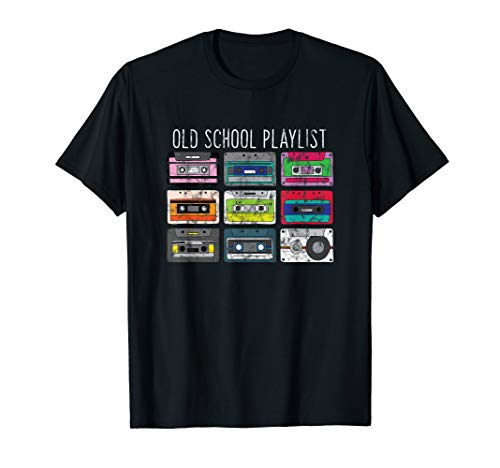 Vintage Retro Music Cassette Tapes Mixtape T-Shirt -