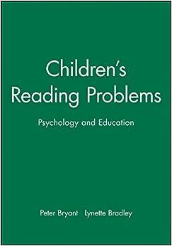 Book Children's Reading Problems