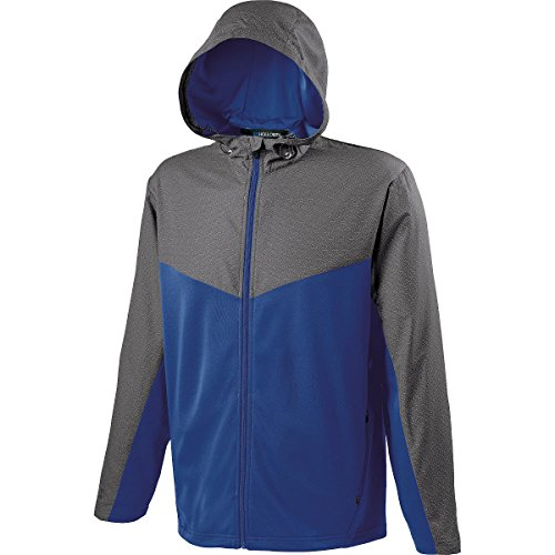 Holloway Sportswear MEN'S CROSSOVER JACKET Men's L Grey P...
