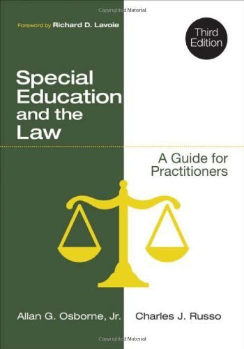 Special Education and the Law: A Guide for Practitioners by Osborne, Allan G., Russo, Charles J. (2014) Paperback