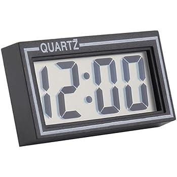 Braceus Digital LCD Screen Table Auto Car Dashboard Desk Date Time Calendar Small Clock