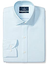 Men's Slim Fit Pattern Non-Iron Dress Shirt