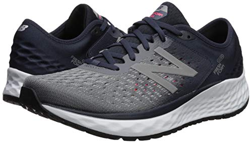 New Balance Men's 1080v9 Fresh Foam Running Shoe, Gunmetal/Outerspace/Energy red, 7 W US by New Balance (Image #6)