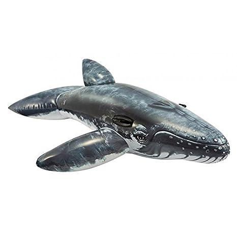 Hinchable Ballena / Montura / Flotador animal / Animal hinchable / Badetier 201 x 135 cm: Amazon.es: Juguetes y juegos
