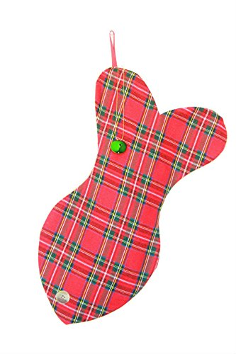 Christmas Stockings for cats, Unique Plaid Cat Christmas stocking, Colorful! Made with Love! by Lovlinne_Designs (Image #3)