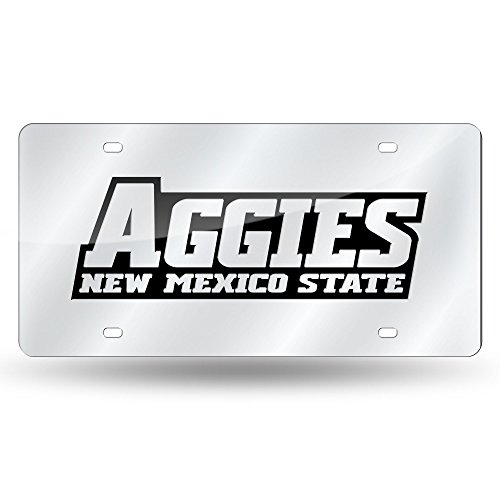 NCAA New Mexico State Aggies Laser Cut License Plate