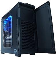 Zalman Z9 Neo Black Midi-Tower Negro - Caja de Ordenador (Midi-Tower, PC, Negro, ATX,Micro ATX, Azul, Superior ...