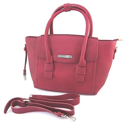 'lulu Color 38x24x15 Creador Cm Castagnette'de Bolsa Rojo 7wxF55qv0