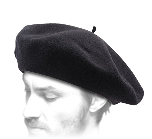 Laulhère Men's Basque Authentique Beret Size 61 cm