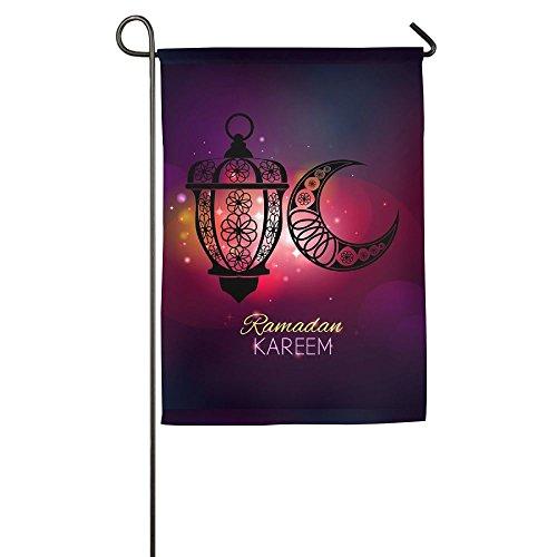 alized Garden Flag - Custom Ramadan Ornaments Yard Flag 12 X 18 Inches/18 X 27 Inches ()