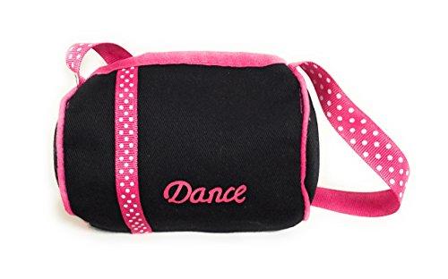 Black Dance Duffle Bag for 18 inch American Girl Dolls