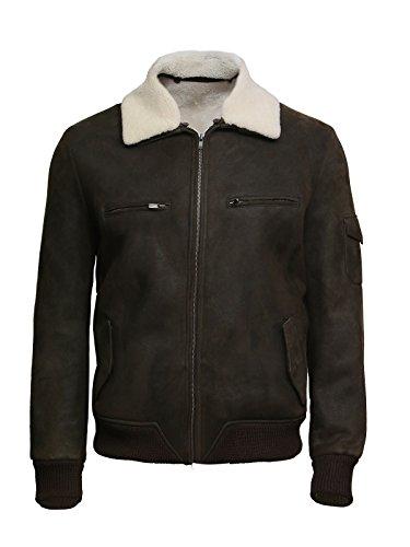 Wwii Leather Bomber Jacket - 8