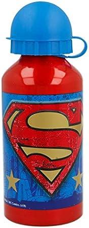 Botella Aluminio 400 ML | Superman Symbol