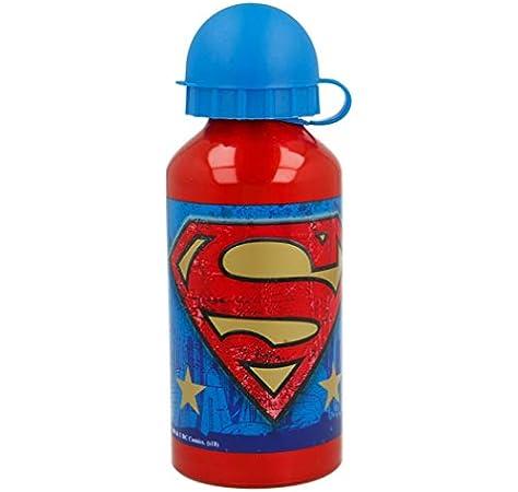 Botella Aluminio 400 ML | Superman Symbol: Amazon.es: Bebé