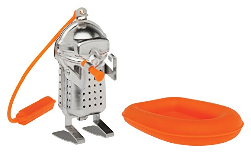 Mug Scuba Accessories - HIC Tea Infuser with Drip Tray, Scuba Diver and Raft