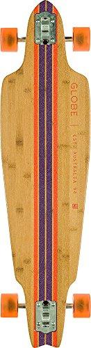 GLOBE HG 10525145 Prowler Bamboo Longboard, Bamboo/Clay, 38.5