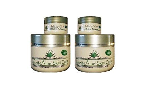 infinite-aloe-skin-care-cream-fragrance-free-8oz-2-jars-plus-2-bonus-05-oz-infinitealoe-travel-jars-