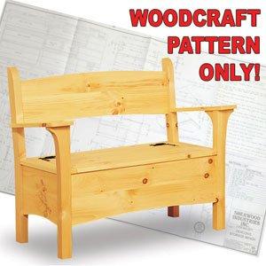 Pleasant Amazon Com Deacons Storage Bench Woodcraft Pattern Amz 98 Inzonedesignstudio Interior Chair Design Inzonedesignstudiocom